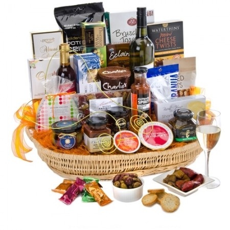 Best Gourmet Baskets - send a basket - goumet abundance H84