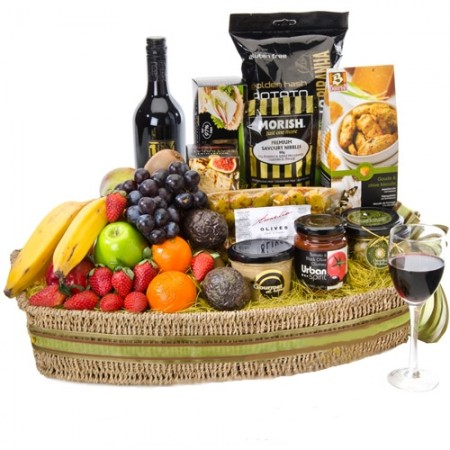 Best Gourmet Baskets - www.sendabasket.com.au (p-758) + luscious treats 450x450H88