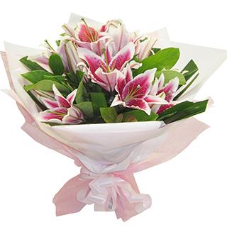Gift Delivery - Send a Basket - p-225-bqt-stargazer-lilies-IMG_2869-copy