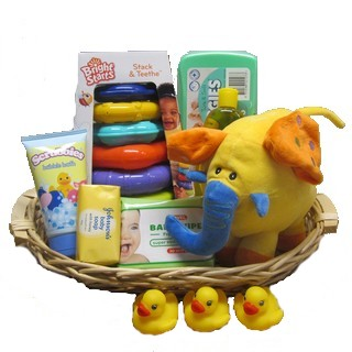Baby Baskets - Send a Basket - p-823-bright-baby-bskt-80_4102