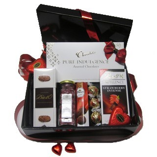 Chocolate Gift Baskets - Send a Basket - p-868-pure-indulgence-sweet-selection-79