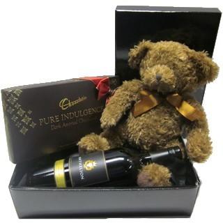 Gift Delivery - Send a Basket - p-872-shy-bear-wine-choc-box-88