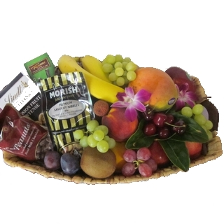 Baskets Online - Send a Basket - p-1108-fruit-nuts-chocs-85