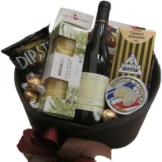 Best Gourmet Baskets - Send a Basket - p-1124-95-suede-delights-95