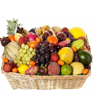 Fruit Basket - Send a Basket - p-1128-fruit-hamper-125