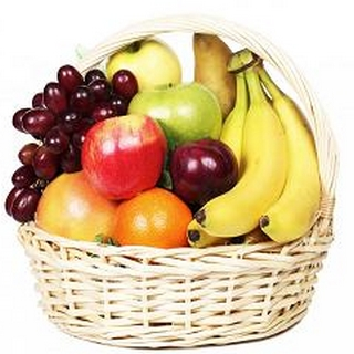 Fruit Basket - Send a Basket - p-1132-small-Fresh-Fruit-Basket