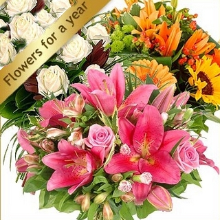 Gift Package - Send a Basket - p-1140-flowers-for-a-year-780