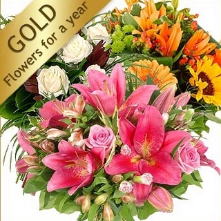 Gift Delivery - Send a Basket - p-1144-flowers-for-a-year-100-1