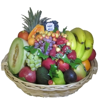 Best Gourmet Baskets - Send a Basket - p-718-delux-fruit-basket