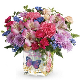 Gift Package - Send a Basket - p-1040-Petals-butterfly-vase-HW0_533763