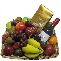 Fruit Baskets - Send a Basket - p-779-cache_240_240_0_100_100_fruit-choc-wine-1