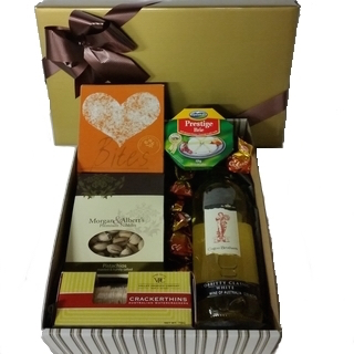 Chocolate Gift Baskets - Send a Basket - p-1244-wine-box-65