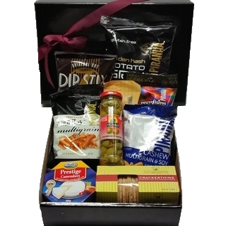 Chocolate Gift Baskets - Send a Basket - p-754-small-gourmet-box-60