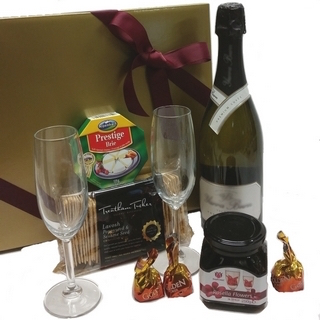 Chocolate Gift Baskets - Send a Basket - p-1248-champ-rosella-fls-glasses-cheese-crackers-choc90-320x320