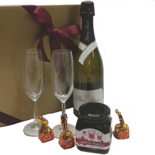 Chocolate Gift Baskets - Send a Basket - p-1252-champ-rosella-fls-glasses-choc75-320x320