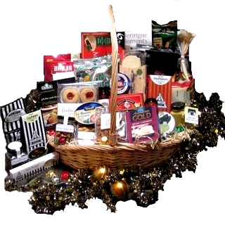 Gift Hampers - Send a Basket - p-654-2011-Large-Christmas-Basket$300-1
