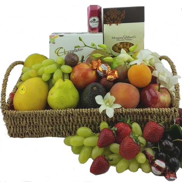 Fruit Basket - Send a Basket - p-305-600x600-$99-fruit-nuts-and-chocs