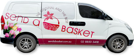 Gift Basket Delivery - Send a Basket - sendabasket-van