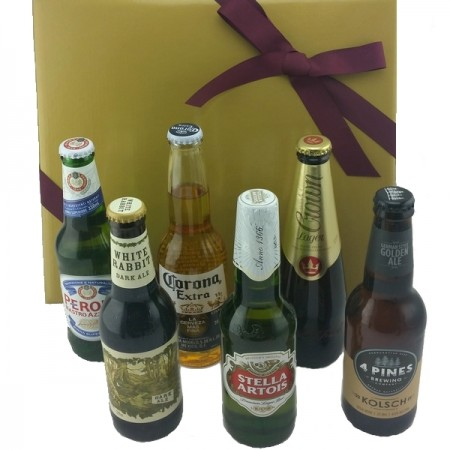 Gift Hampers - Send a Basket - Six Straight Up - BH