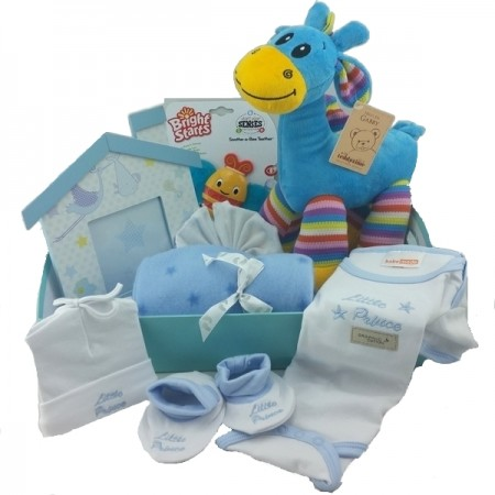 Baskets Online - Send a Basket - bright Baby Boy