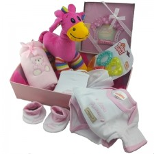 Baby Baskets - Send a Basket - bright-baby-girl
