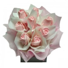 Gift Hampers - Send a Basket - pink rose soap box