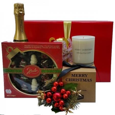 Christmas Gift Hampers - Send a Basket - Christmas-Candle-Joy