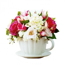 Gift Hamper - Send a Basket - Flower-teapot-1