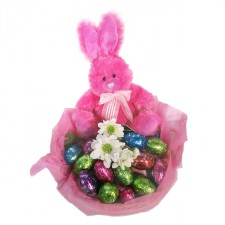 Gift Hamper - Send a Basket - Pink Bunny
