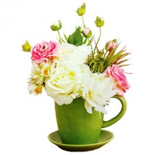 Gift Delivery - Send a Basket - green-teapot