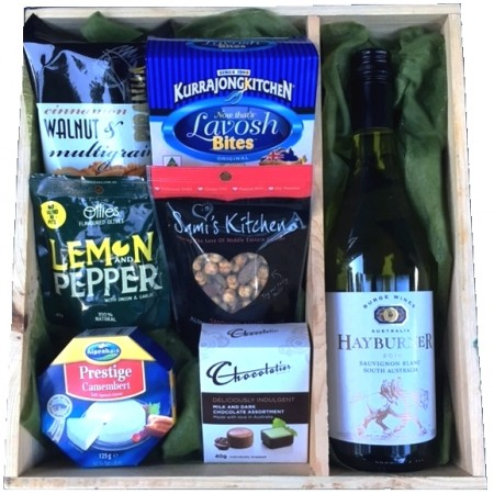 gourmet hamper send a basket the great crate