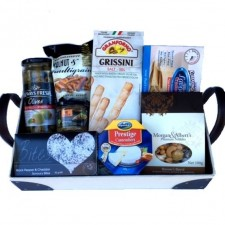 Gift Hamper - Send a Basket - morgan's upolstered hamper box 85