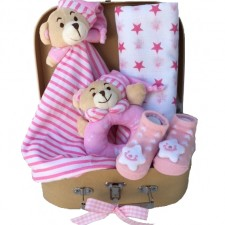 Gift Hampers - Send a Basket - baby baskets send a basket - teddy bear sleepytime 79