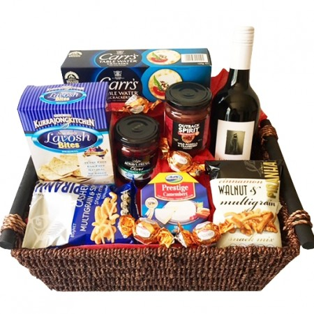 gift hamper send a basket Good Times Gourmet 115