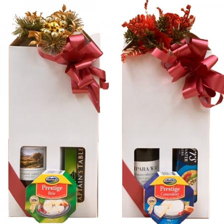 christmas gift hampers send a basket christmas wine & nibbles