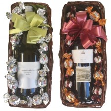 gift hampers send a basket wine & choccies Red or white