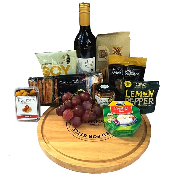 Baskets online send a basket gourmet hamper send a basket cheese nibbles board lge negle Image collections