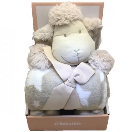 baby gift send a basket shawn sheep