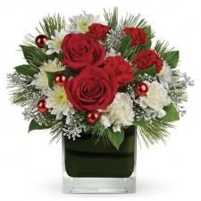 Christmas-flowers-send-a-basket-Christmas Glitter Petals X27