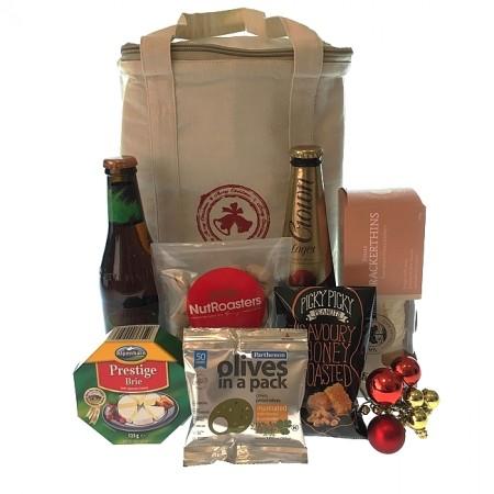 Christmas-hamper-send-a-basket- christmas-cooler-bag