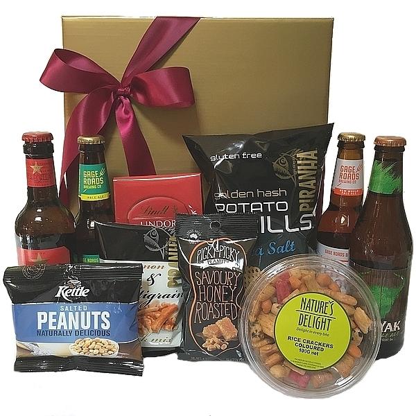Gift hamper send a basket gourmet hamper send a basket beer bites negle Gallery