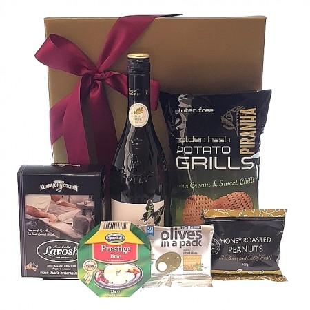 Gourmet-hamper-send-a-basket-cheese-wine-nibbles