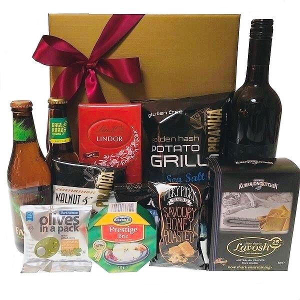 Gift hamper send a basket gift hamper send a basket beer wine nibbles negle Gallery