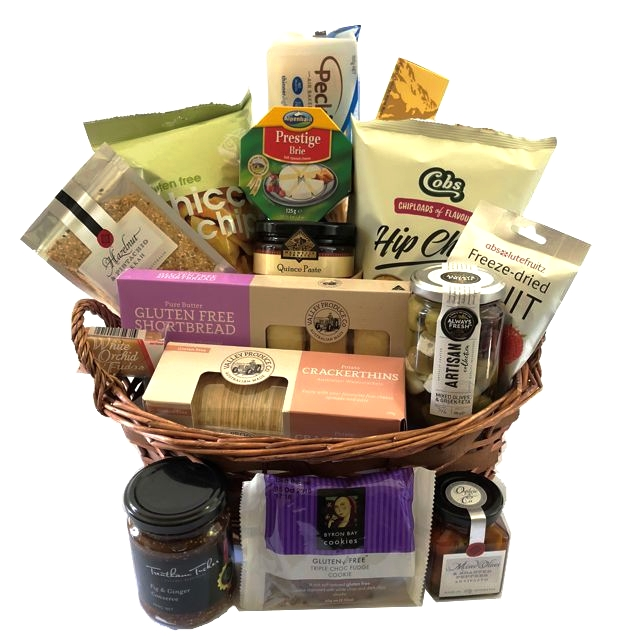 Gift hamper send a basket gourmet hamper send a basket gluten free gourmet negle Images