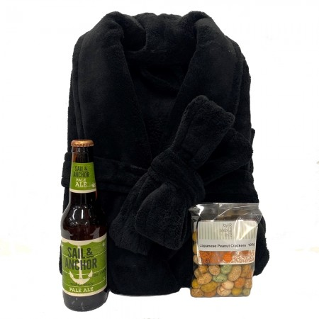 mens- hamper-send-a-basket-bathrobe & beer