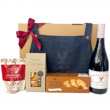send a basket H & H Wine apron & nibbles