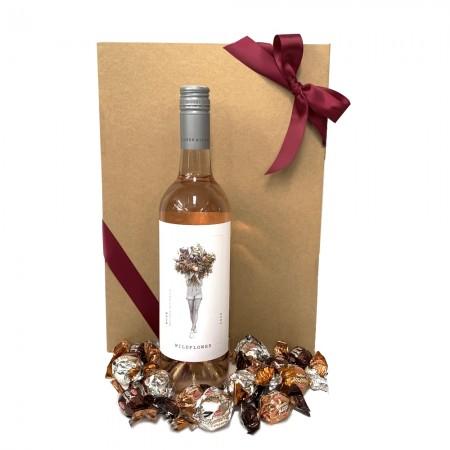 wine-hamper-send-a-basket-rose-wine-choccies