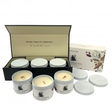 candles send a basket Asana Collection gift pack