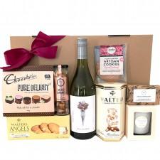 wine hamper send a basket white wine luxury